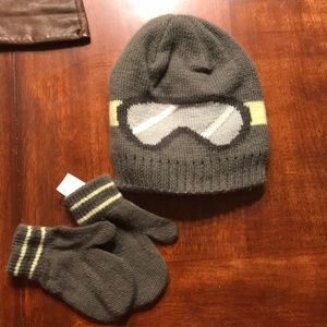 Carters hat and mittens